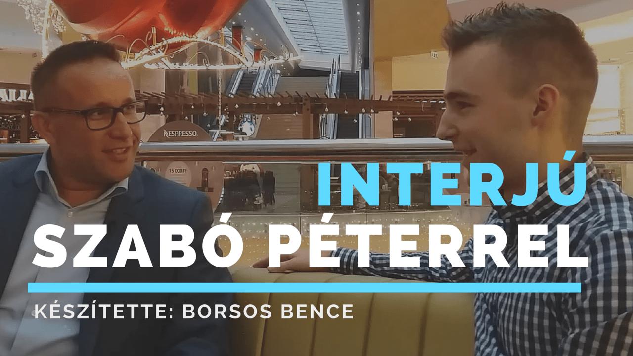 Interjú Szabó Péterrel