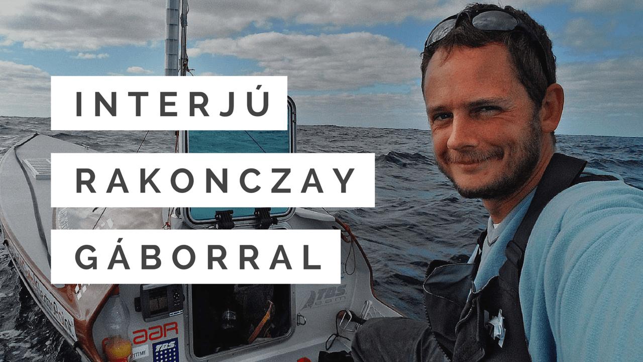 Rakonczay Gábor interjú Borsos Bencével