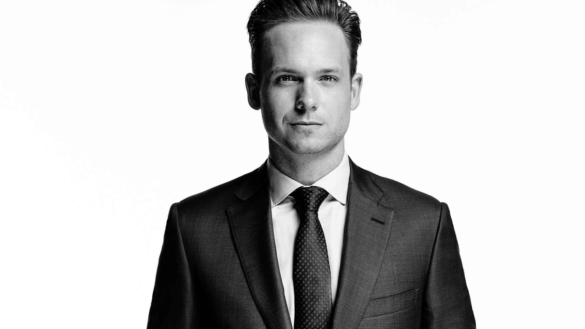SUITS -- Season:5 -- Pictured: Patrick J. Adams as Michael Ross -- (Photo by: Nigel Parry/USA Network)